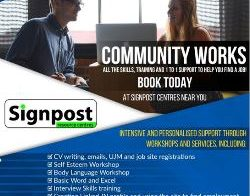 Community Works poster
